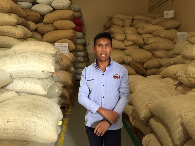 Coffee processing plant in Chiapas, Mexico. Source: Jenny Cafiso/CJI